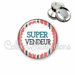Badge 56mm Super vendeur (028MUL01)