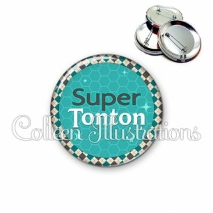 Badge 56mm Super tonton (030VER01)