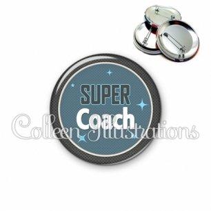 Badge 56mm Super coach (034BLE01)