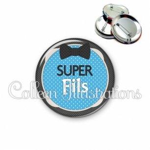 Badge 56mm Super fils (037BLE01)
