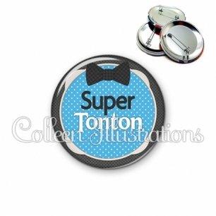 Badge 56mm Super tonton (037BLE01)