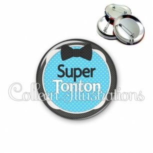 Badge 56mm Super tonton (037BLE03)