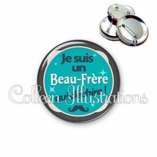 Badge 56mm Beau-frère qui déchire (037VER01)