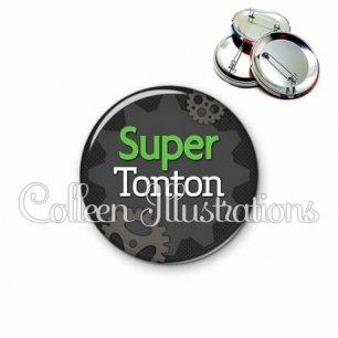 Badge 56mm Super tonton (038GRI01)