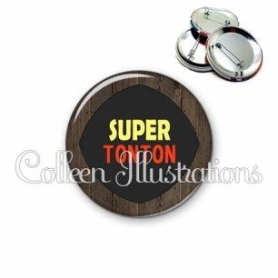 Badge 56mm Super tonton (050MAR01)