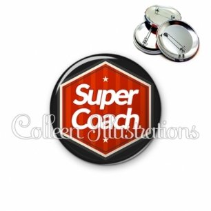 Badge 56mm Super coach (055ROU01)