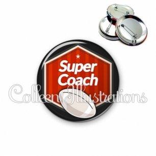 Badge 56mm Super coach (055ROU02)