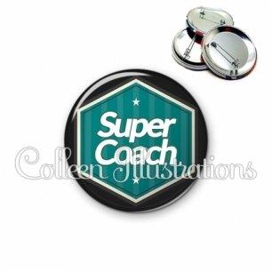 Badge 56mm Super coach (055VER01)