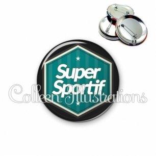 Badge 56mm Super sportif (055VER01)