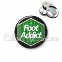 Badge 56mm Foot addict (055VER02)
