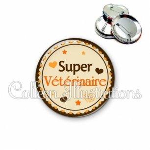 Badge 56mm Super vétérinaire (064MAR01)