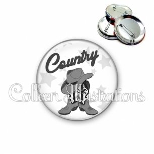 Badge 56mm Danse country (071BLA01)