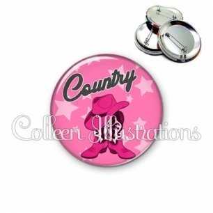 Badge 56mm Danse country (071ROS01)