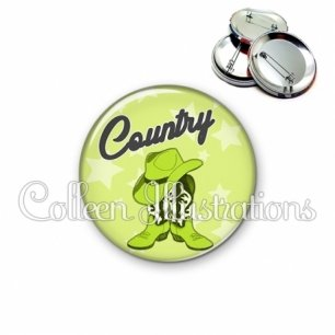 Badge 56mm Danse country (071VER01)