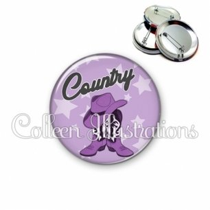 Badge 56mm Danse country (071VIO01)