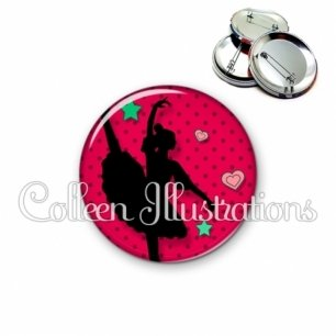 Badge 56mm Danseuse (074ROU01)
