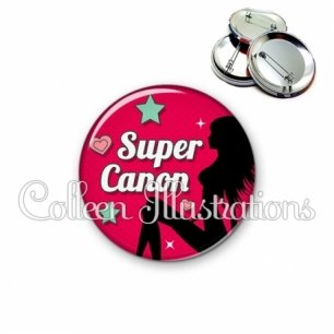 Badge 56mm Super canon (074ROU02)