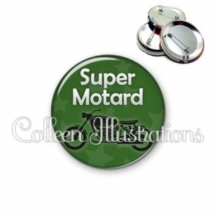 Badge 56mm Super motard (078VER07)