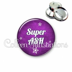 Badge 56mm Super ASH (079VIO01)