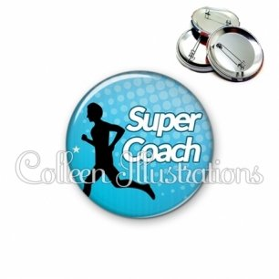 Badge 56mm Super coach (082BLE01)