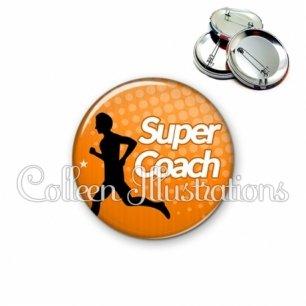 Badge 56mm Super coach (082ORA01)