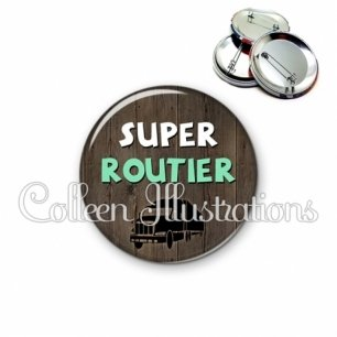 Badge 56mm Super routier (086MAR01)
