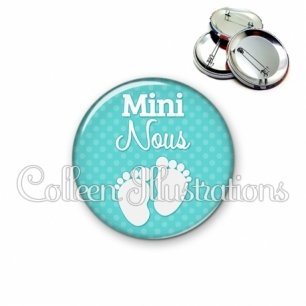 Badge 56mm Mini nous (087VER03)