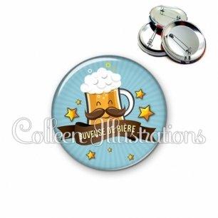Badge 56mm Buveuse de bière (106BLE01)