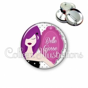 Badge 56mm Belle gosse (110BLA01)