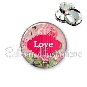 Badge 56mm Love (143MUL02)