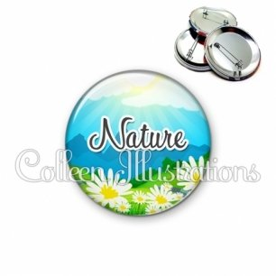 Badge 56mm Nature (145MUL01)
