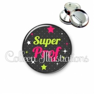 Badge 56mm Super prof (157GRI03)