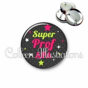 Badge 56mm Super prof APA (157GRI03)