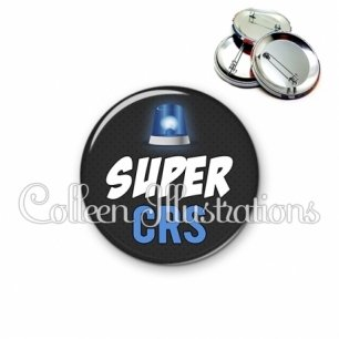 Badge 56mm Super CRS (162GRI01)