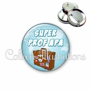 Badge 56mm Super prof APA (168BLE01)