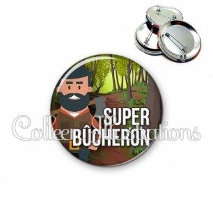 Badge 56mm Super bûcheron (171MUL01)