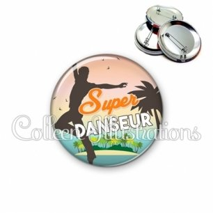 Badge 56mm Super danseur (176MUL01)
