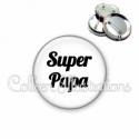 Badge 56mm Super papa (181BLA11)