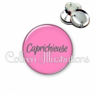 Badge 56mm Caprichieuse (181ROS06)