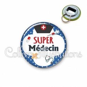 Décapsuleur 56mm Super médecin (002BLE01)