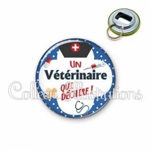 Décapsuleur 56mm Vétérinaire qui déchire (002BLE01)