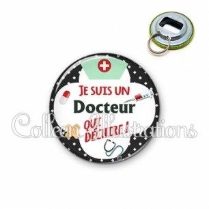 Décapsuleur 56mm Docteur qui déchire (002NOI01)