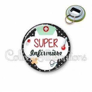 Décapsuleur 56mm Super infirmière (002NOI01)