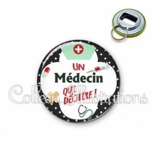 Décapsuleur 56mm Médecin qui déchire (002NOI01)