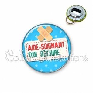 Décapsuleur 56mm Aide-soignant qui déchire (003BLE02)