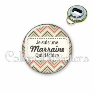 Décapsuleur 56mm Marraine qui déchire (003MUL01)
