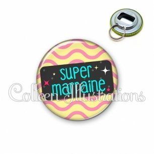 Décapsuleur 56mm Super marraine (003MUL04)
