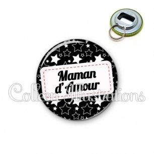 Décapsuleur 56mm Maman d'amour (003NOI02)