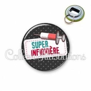 Décapsuleur 56mm Super infirmière (003NOI05)