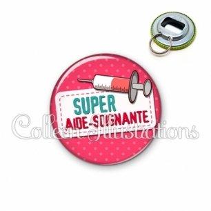 Décapsuleur 56mm Super aide-soignante (003ROS08)